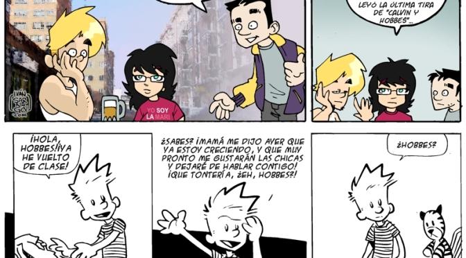 Al Menos a mi Parecer… 30 Aniversario de Calvin & Hobbes.
