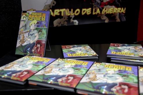 Presentación #CHICADESERIEB TOMO 1 en Avalon Cómics 2013