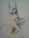 Batman dedicado a un chavalín, por Iván Sarnago.