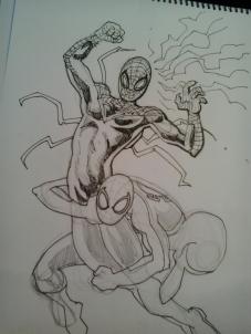 Superior Spiderman, por Sarnago