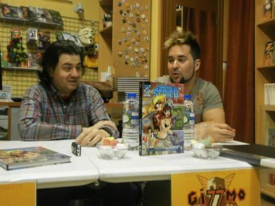 Foto de archivo de la presentación de #CHICADESERIEB en Gizzmo Cómics.