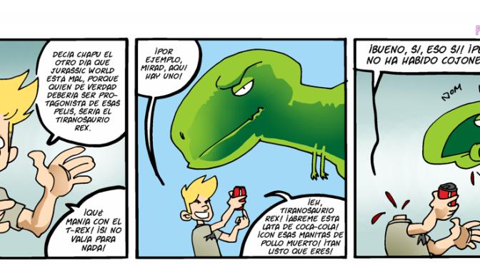 #CHICADESERIEB 8×03 -El Tiranosaurio.