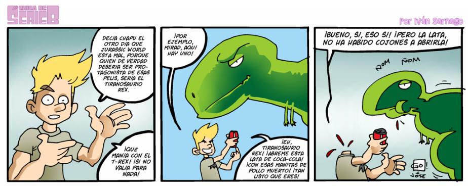 #CHICADESERIEB 8×03 -ElTiranosaurio.