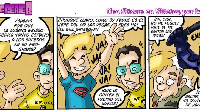 #CHICADESERIEB 8×20 -El chistear.
