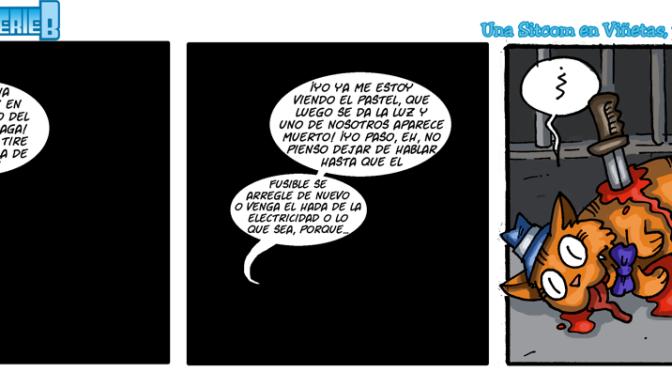 #CHICADESERIEB 8×26 -El intrigar