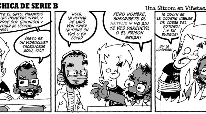 #CHICADESERIEB 8×29 -El Chica del Futuro Pasado II