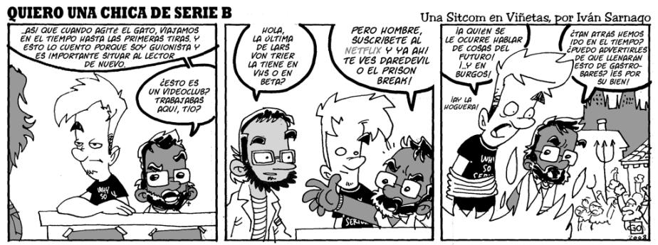 #CHICADESERIEB 8×29 -El Chica del Futuro PasadoII