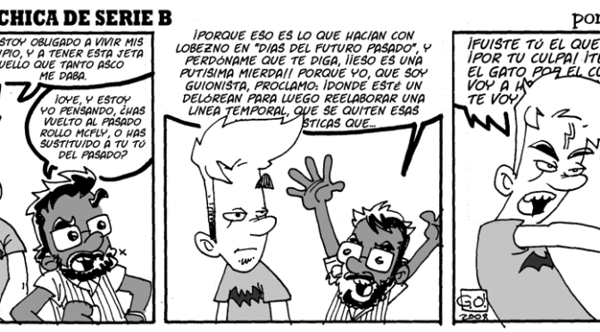 #CHICADESERIEB 8×30 -El Chica del Futuro Pasado III