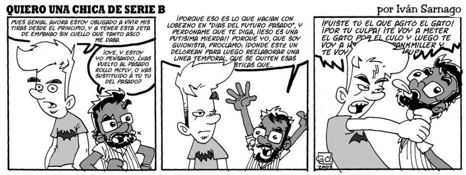 #CHICADESERIEB 8×30 -El Chica del Futuro PasadoIII