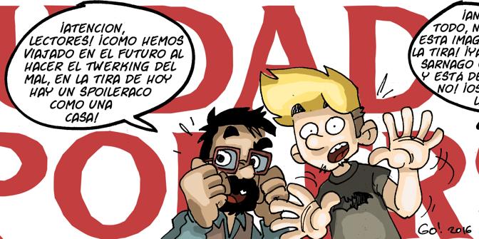 #CHICADESERIEB 8×47 -Cuidado, Spoilers! (2)