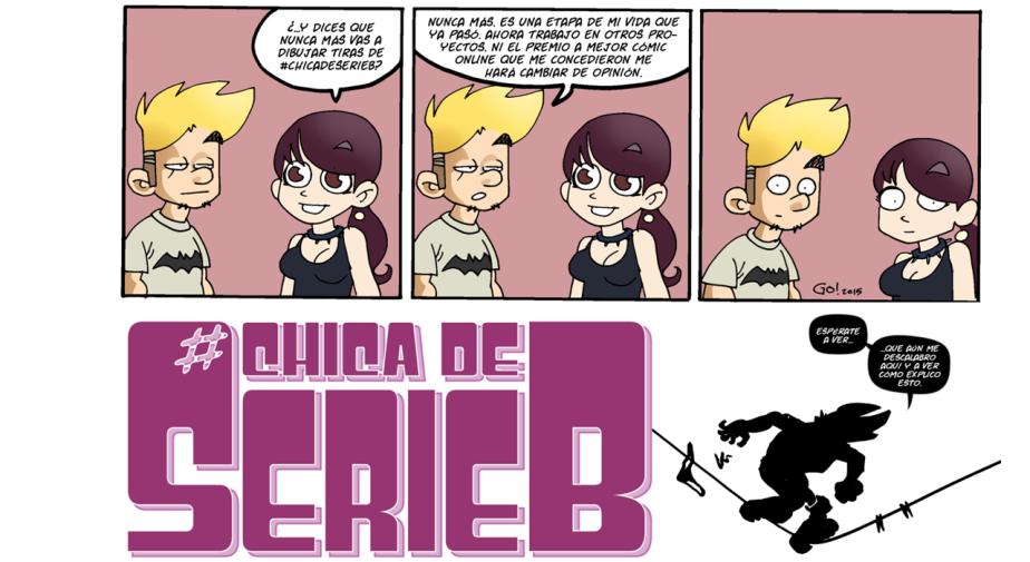 Charla presentación de #CHICADESERIEB en Librería Ícaro (La Granja,2013)