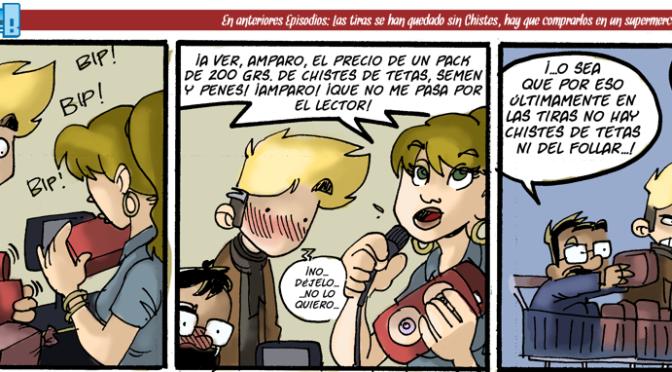 #CHICADESERIEB 8×56 -El súper de los chistes y el metalenguaje (2)