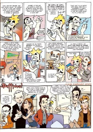 Buffidos, parodia de Buffy 09