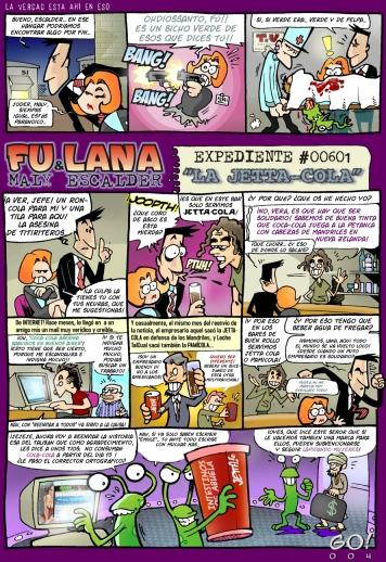 Fu y Lana, parodia de EXPEDIENTE X.