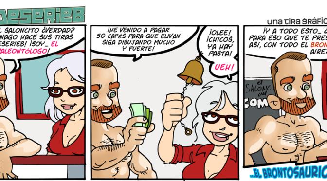 #CHICADESERIEB 8×67 –El Paleontólogo!!