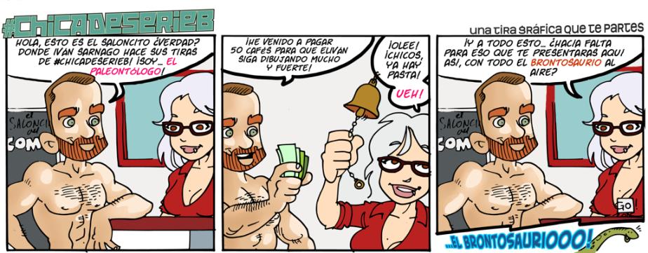 #CHICADESERIEB 8×67 –ElPaleontólogo!!