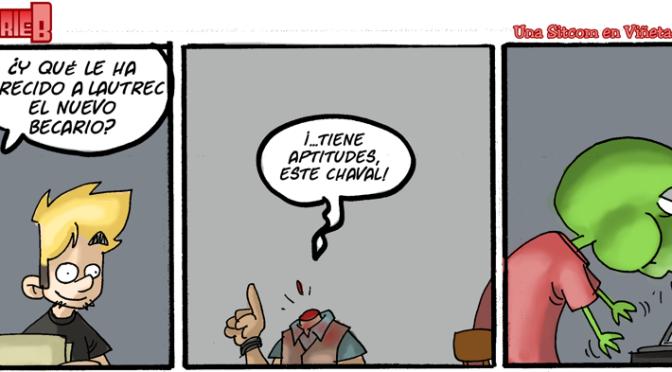 #CHICADESERIEB 8×52 -El contratar del becario (3)