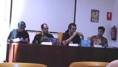 Big Bang León, junto a Aitor Eraña y José Fonollosa.